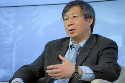 Yi Gang, governor of the People's Bank of China