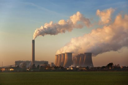 Coal Fired Power Station - England