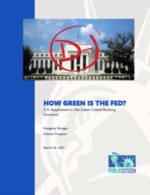 How Green is the Fed report cover