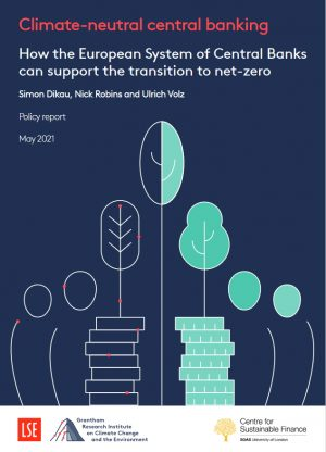 Climate-neutral central banking: How the European System of Central Banks can support the transition to net-zero