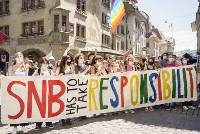 SNB Climate Protests